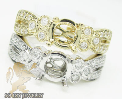 semi mount diamond ring