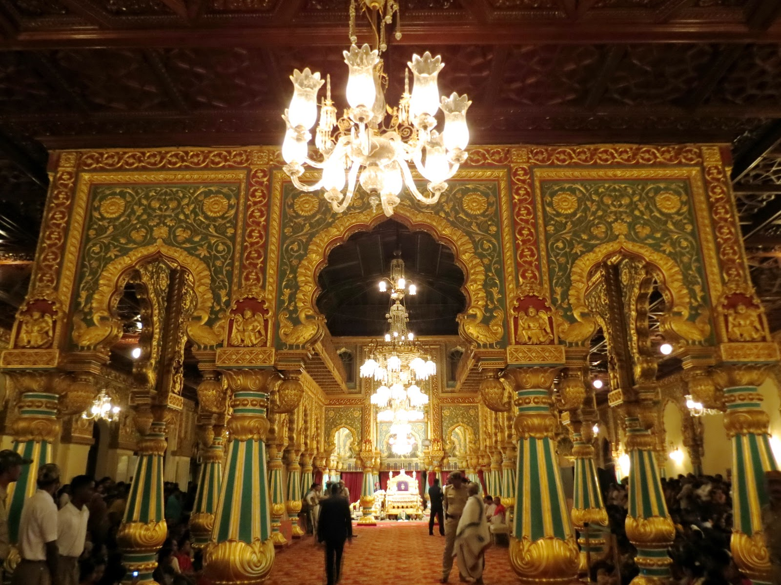 The Golden Throne That Maharaja Of Mysore Used To Occupy In Days Kingdom Is Perhaps Most Visible Symbol Grandeur