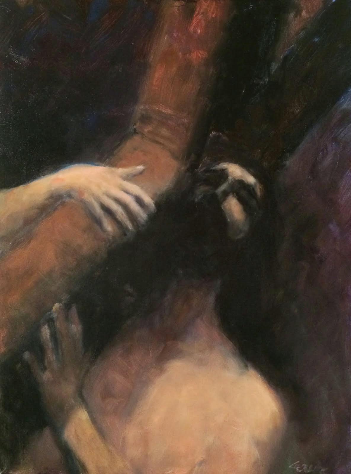 Jesus Carrying Cross to Calvary