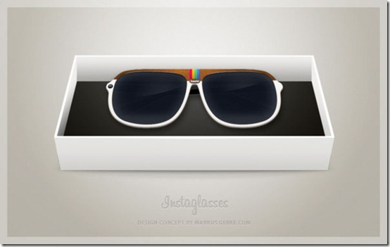 Design Concept Instagram Camera Glasses