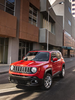 New Jeep's Renegade More Power Elegant edition front view