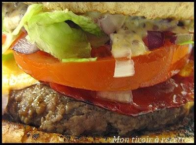 hamburger au chorizo