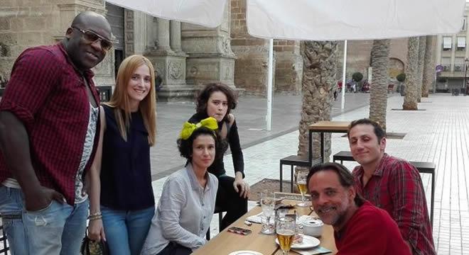 Dornienses en Almería- foto de @amaliagallegos