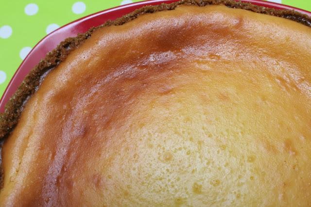 New York cheesecake de lima limón - El dulce mundo de Nerea