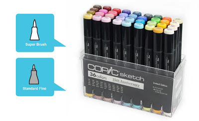Supercandy bij Copic Marker Benelux