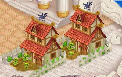 Las Granjas De Comida De Dragón City, son los edificios donde podrás