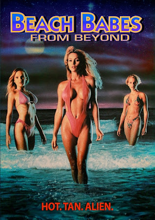 Poster Of Beach Babes From Beyond (1993) In Hindi English Dual Audio 100MB Compressed Small Size Mobile Movie Free Download Only At worldfree4u.com