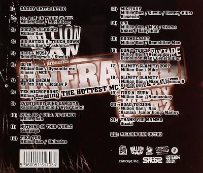 Million Dan – Infrared Mixtape (2007) (192 kbps)