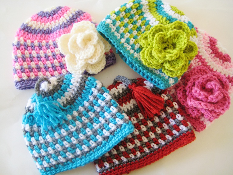 Crocheting Loops : Crochet Dreamz: Fruit Loop Beanie Crochet Pattern for Boys and Girls ...
