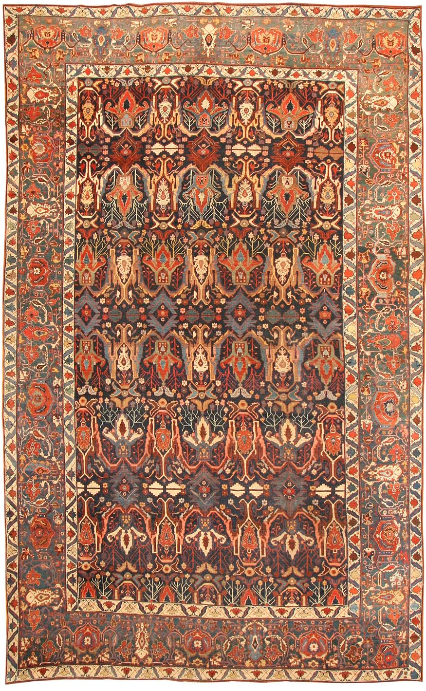 Polonaise antique oriental rugs - Bijar Iran July 15 2012 When One Thinks Of Persian Carpets One Usually Thinks Of Two Ends Of A Spectrum