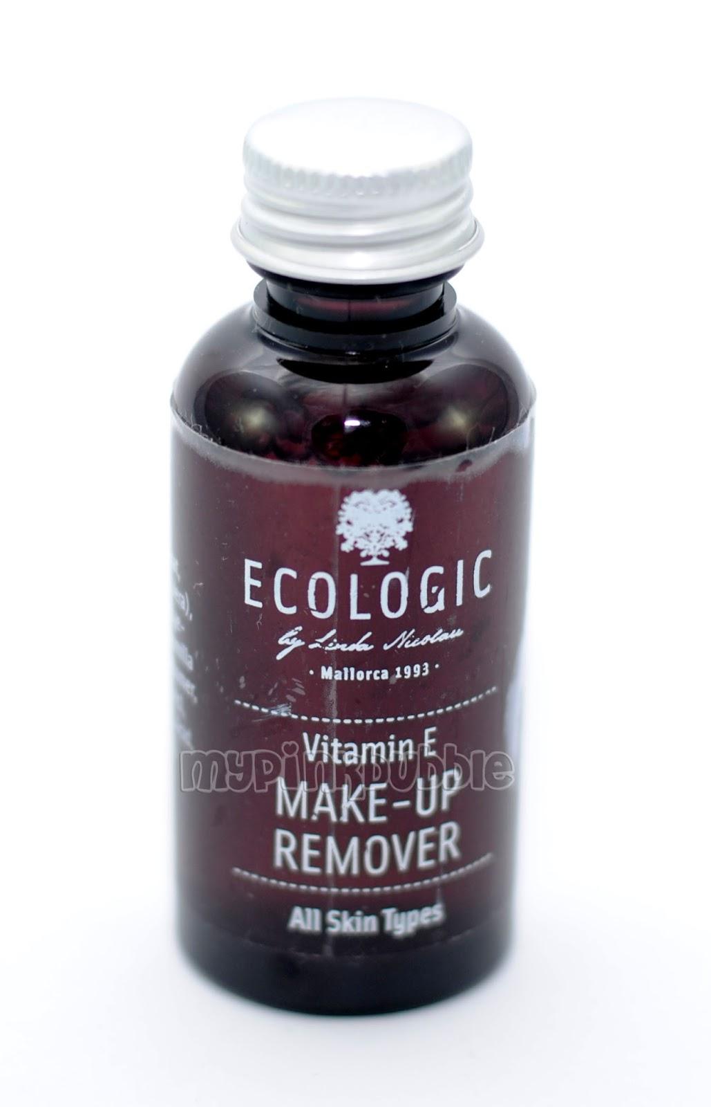 Ecologic cosmetics desmaquillante vitamina e