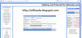 setting CNAME blogger2 1