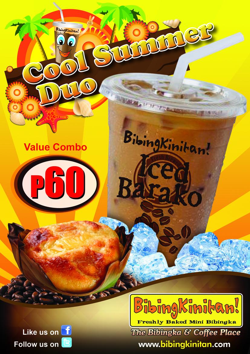 Coffee Break - Iced Barako Coffee at BibingKinitan!