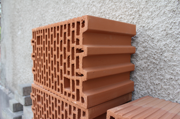 Honeycomb Brick Work : Techne and poiesis porotherm