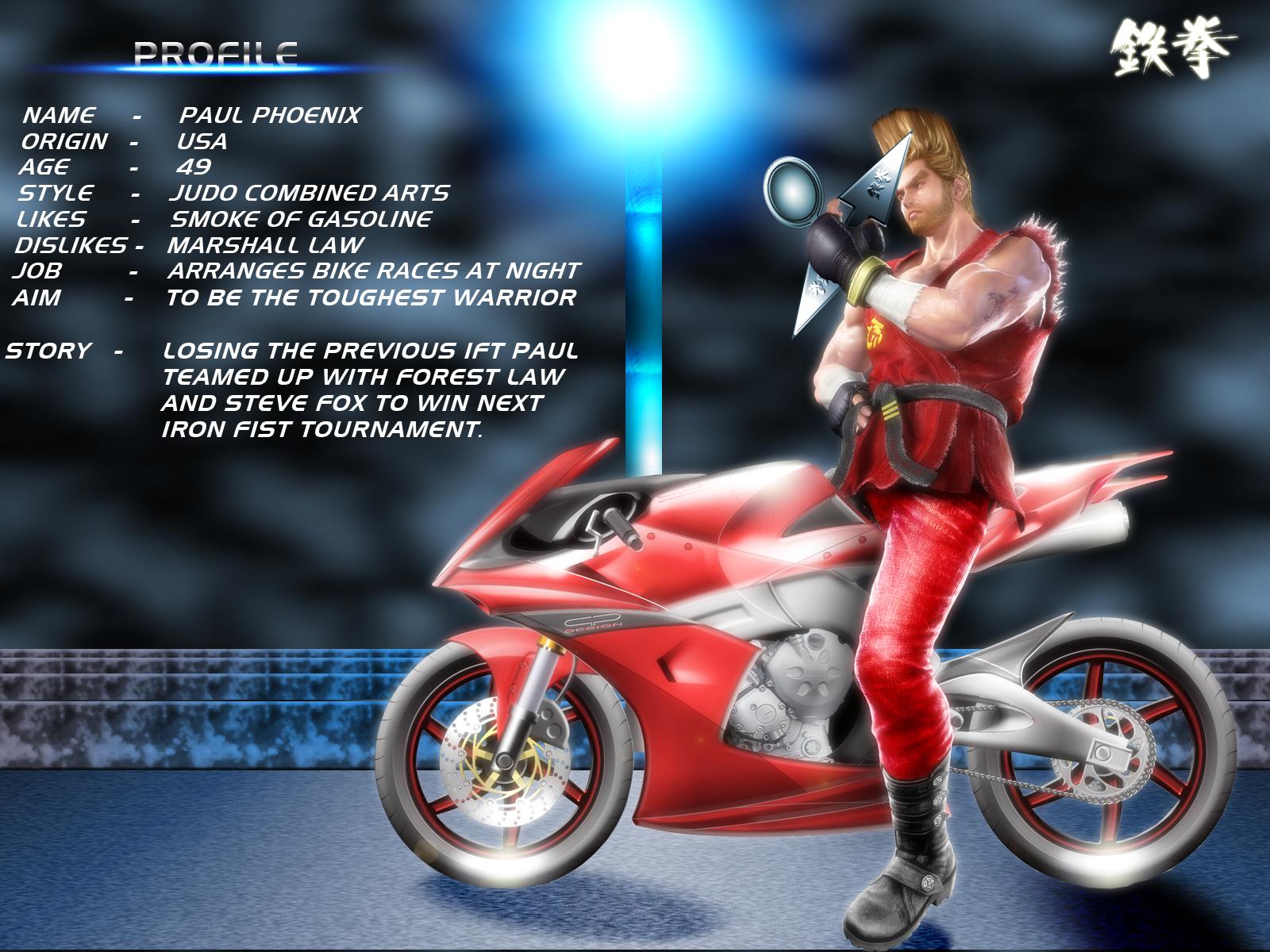 Louella Ellison Tekken 6