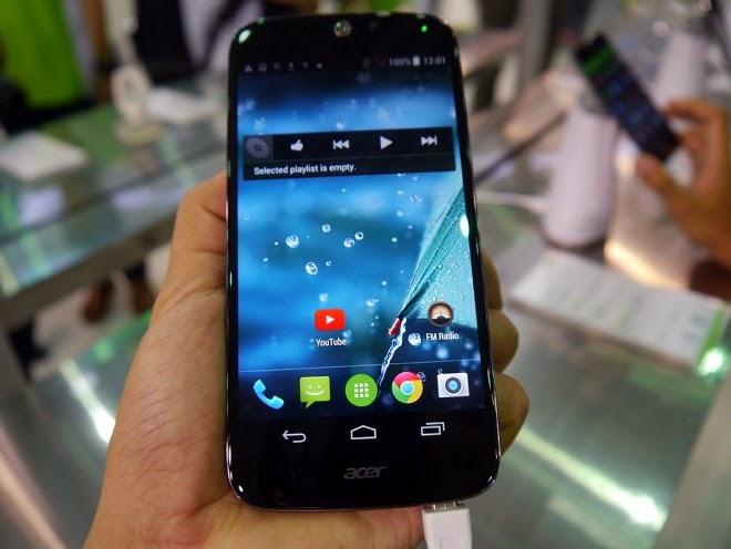 Acer Liquid Jade S, Spesifikasi HP Terkecil Di Dunia Harga 2,7 Juta
