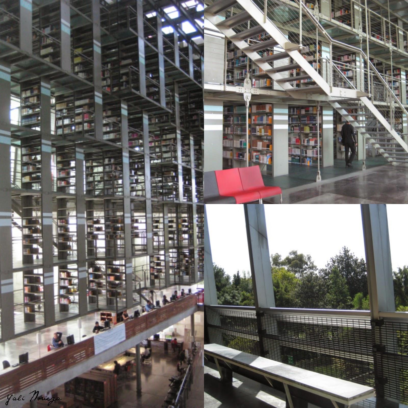 biblioteca josé vasconcelos méxico df
