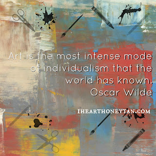 Art is the most intense mode of individualism that the world has known. Oscar Wilde