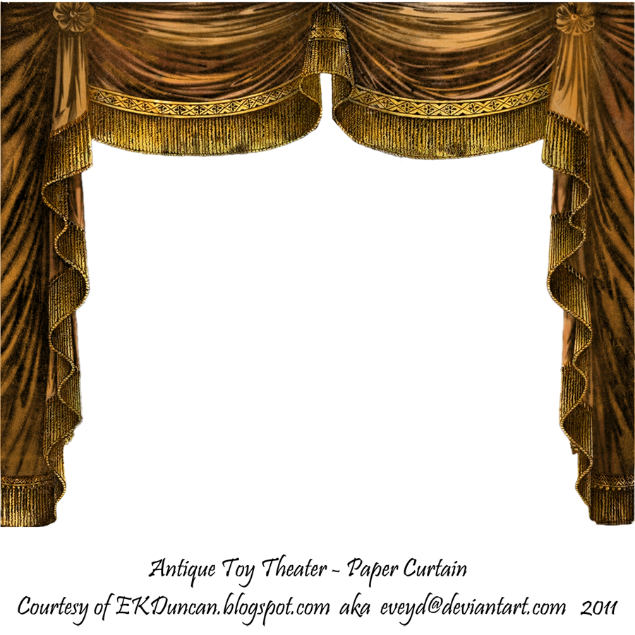 Ekduncan my fanciful muse marie in jewel tones for Blue theatre curtains png