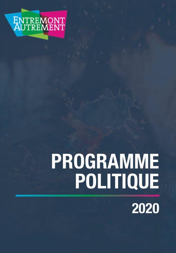 Programme politique 2020