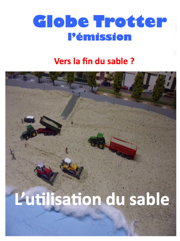 L'utilisation du sable