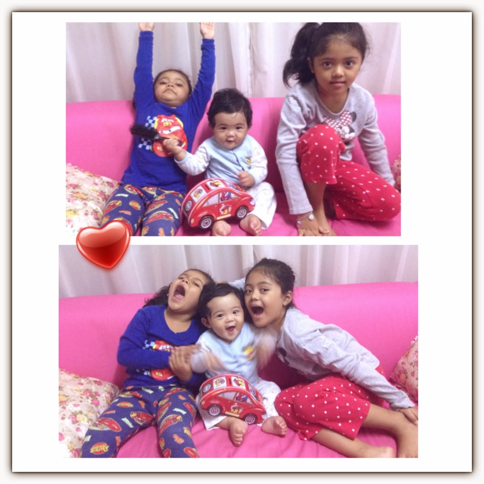 Triple D ~DAMIA, DANISHA & DANISH