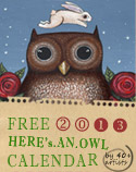 Owl Lover 2013 Calendar