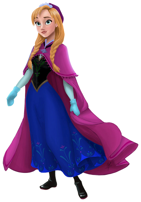 Frozen Ana Clip Art Is It For PARTIES FREE CUTE Has