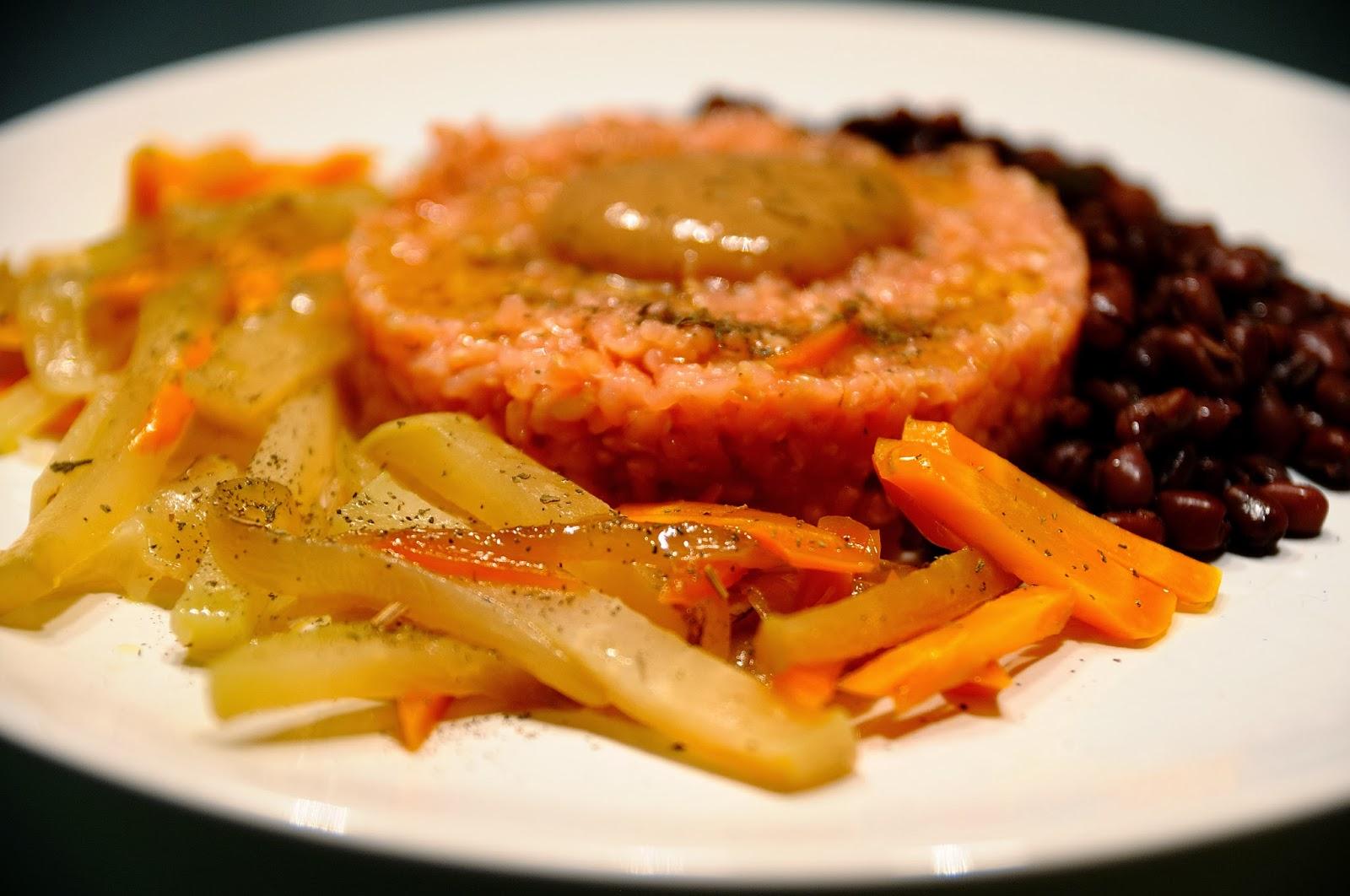 Arroz con azukis al mango y salteado de ra ces cocinar for Cocinar con mango