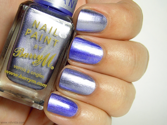 Barry M Chameleon Colour Changing Nail Effects in Lilac