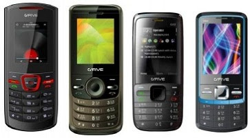 New Dual SIM Multimedia G'Five Mobiles