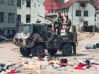 "Genocid u Srebrenici,""očišćena Srebrenica"
