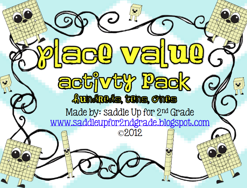 http://www.teacherspayteachers.com/Product/Place-Value-Activity-Pack-Hundreds-Tens-and-Ones-349431