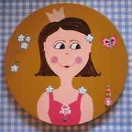 Schilderij voor Mila-doorsnee 50 cm.