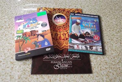buku diari dan cd agama