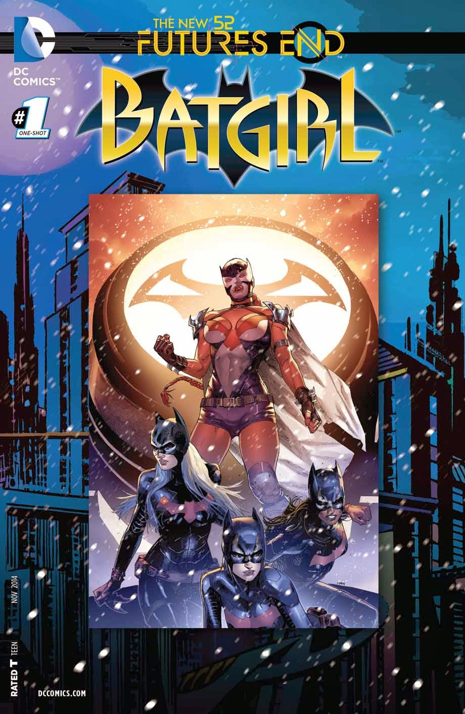 Batgirl Future's End #1