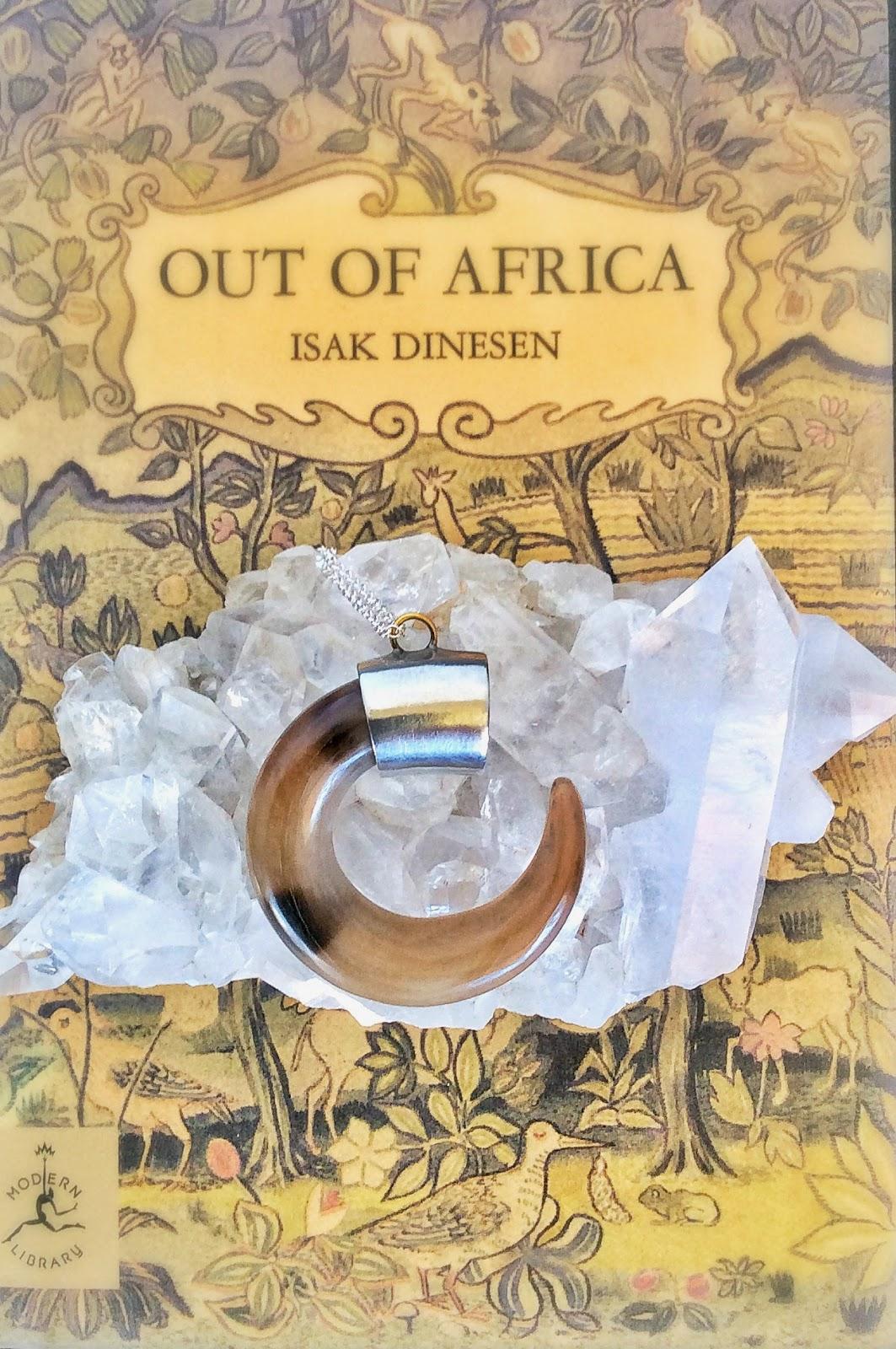 African Horn Hook Pendant