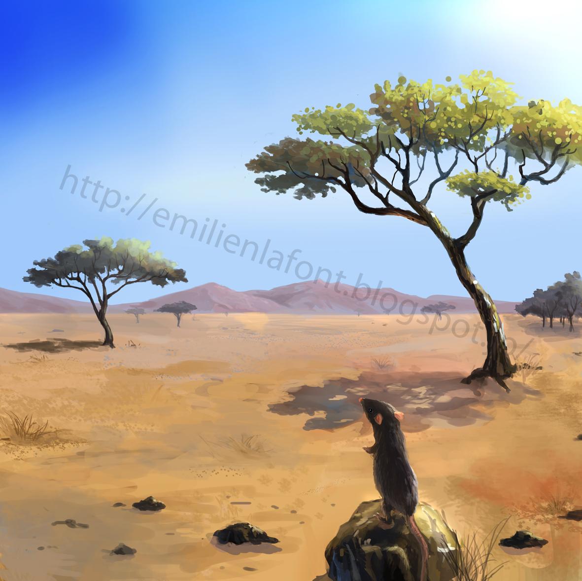 Selerys - La savane dessin ...