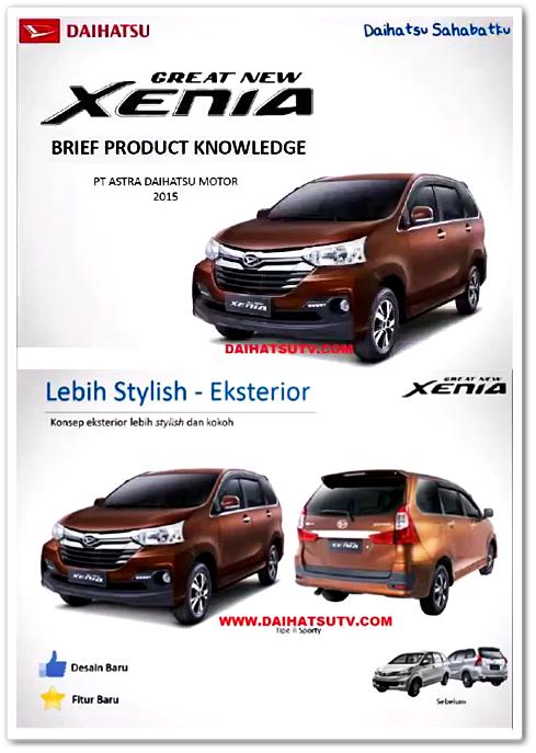 Wajah Baru Daihatsu Great New Xenia 2015 Bocor Sebelum Peluncuran