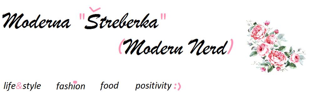 """Moderna """"Štreberka"""""""