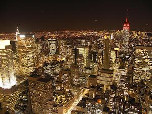 NYC never sleeps...
