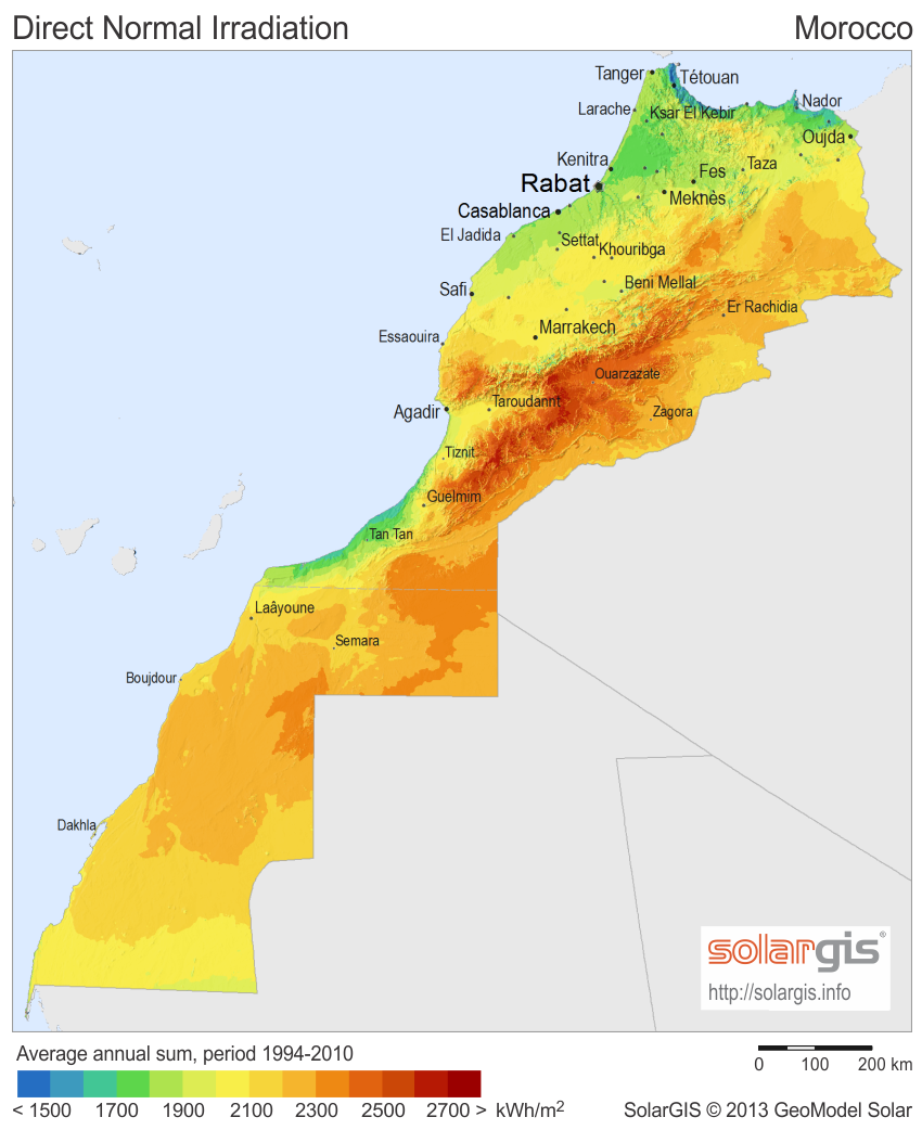 Morocco renewable energy sources: wind energy and solar power | REVE