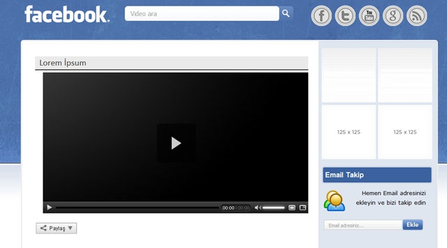 Facebook Videolu Reklam Uygulaması