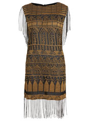 festival fashion fringed tunic