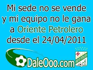 Cargadas Albiverdes - DaleOoo.com - Oriente Petrolero - Clásico Cruceño