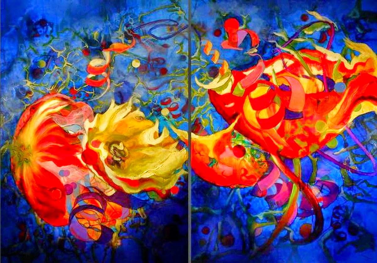 Cuadros Pintura Acrilica Moderna Paisajes Y Bodegones