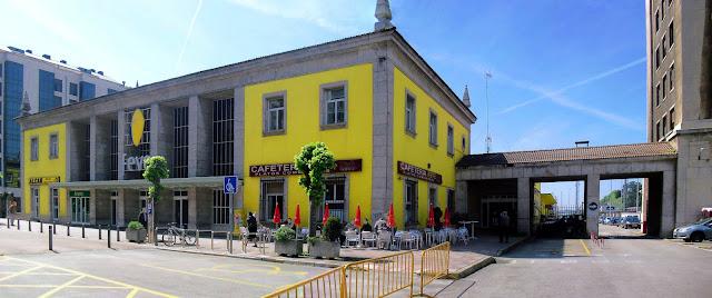 Estacion de FEVE en Santander