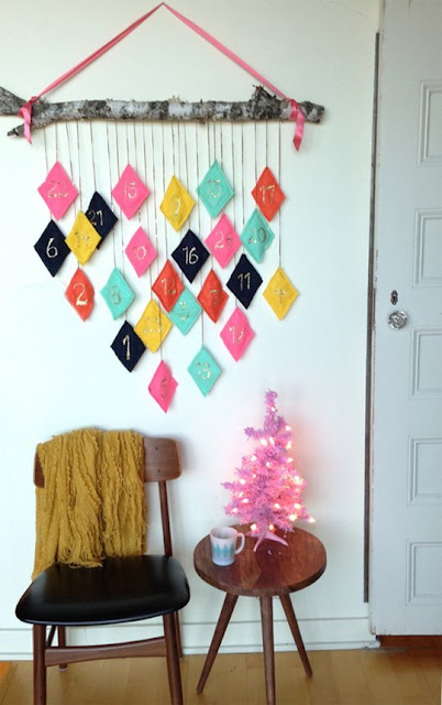 diy calendario de adviento