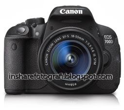 Spesifikasi Canon EOS 700D