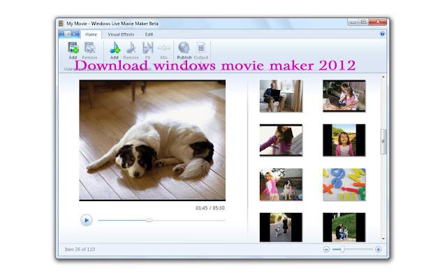Windows live movie maker 2012 offline installer | Download ...